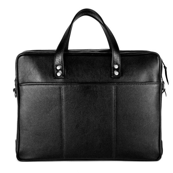 Personalised genuine leather men's laptop bag SL05