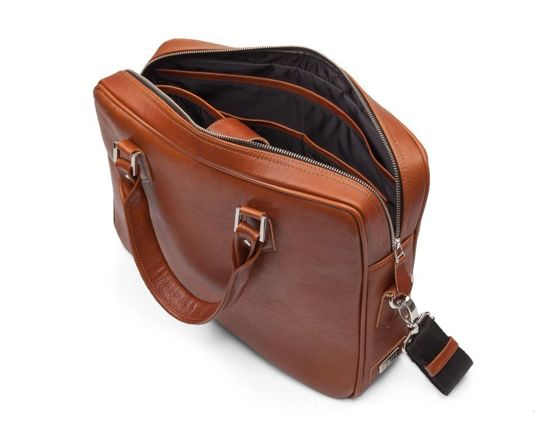 Personalised genuine leather men's laptop bag SL22
