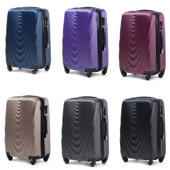 SUITCASE L | 304 ABS BURGUNDY