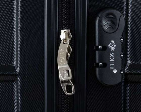 SUITCASE M | STL838 ABS CHAMPAGNE