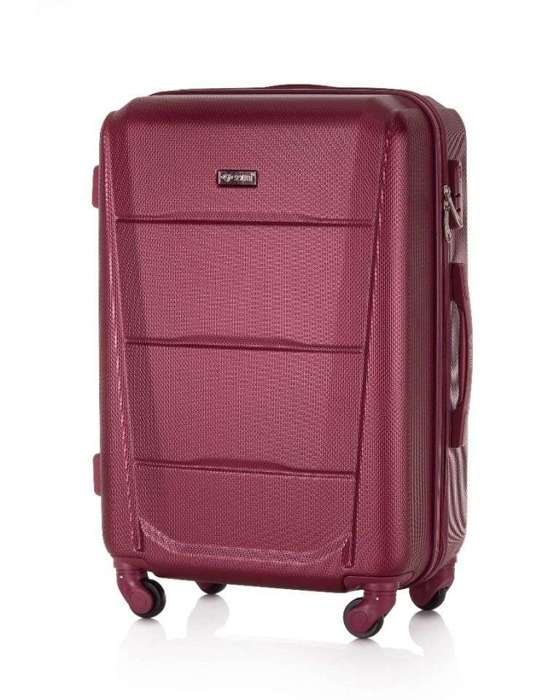SUITCASE M STL870 ABS BURGUNDY