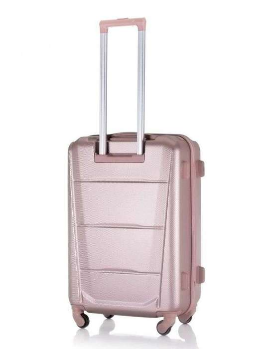SUITCASE M STL870 ABS ROSE GOLD