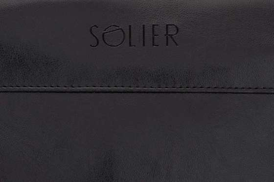 Sport men's weekend bag Solier GOVAN black