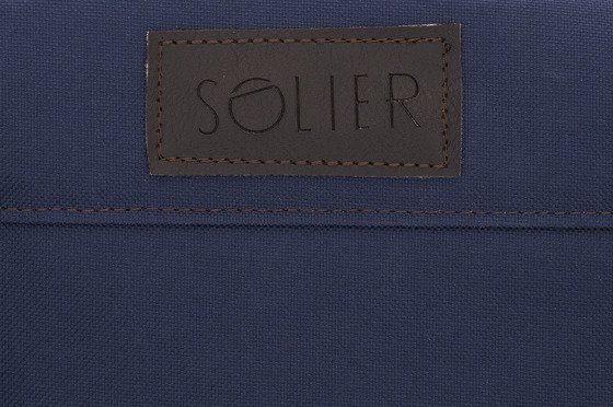 Sport men's weekend bag Solier GOVAN navy