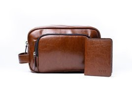 MEN'S LEATHER ACCESSORIES SET SOLIER SW10 SET