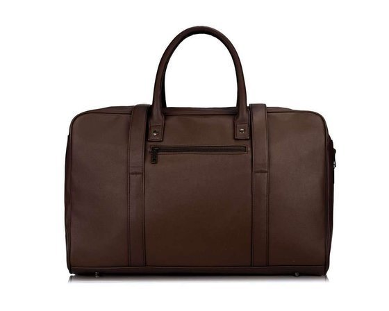 Brown men's weekend bag SOLIER S16
