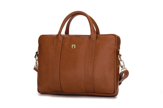 Elegant shoulder laptop bag Felice Gold Dulce