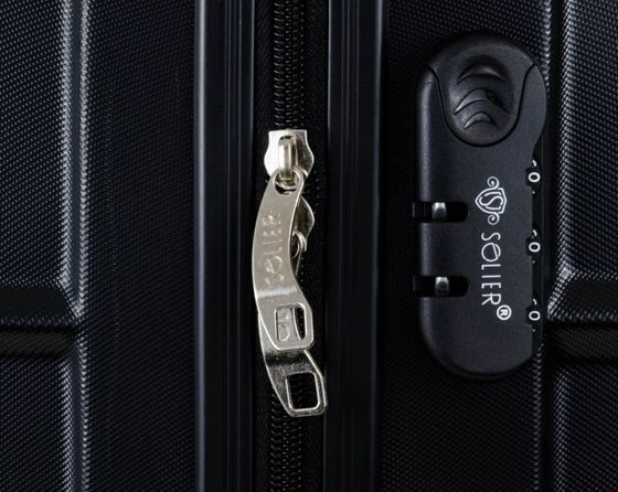 SUITCASE L | STL190 ABS BLACK