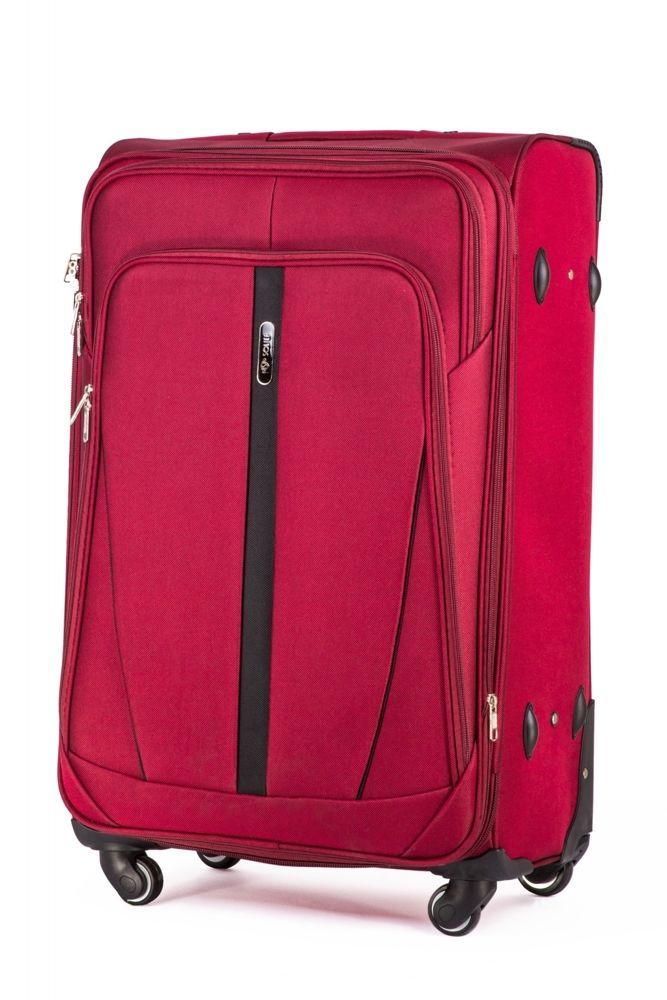 bd3639461fb10 Duża walizka miękka L Solier STL1706 czerwony | sklep.solier.pl