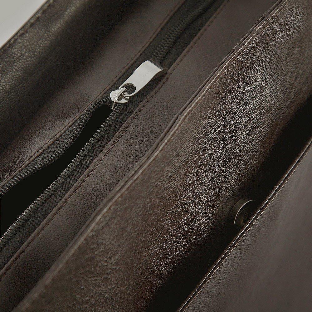 bfcf37090ccec ... Męska brązowa miejska torba na ramię Solier S11 Kliknij, aby powiększyć