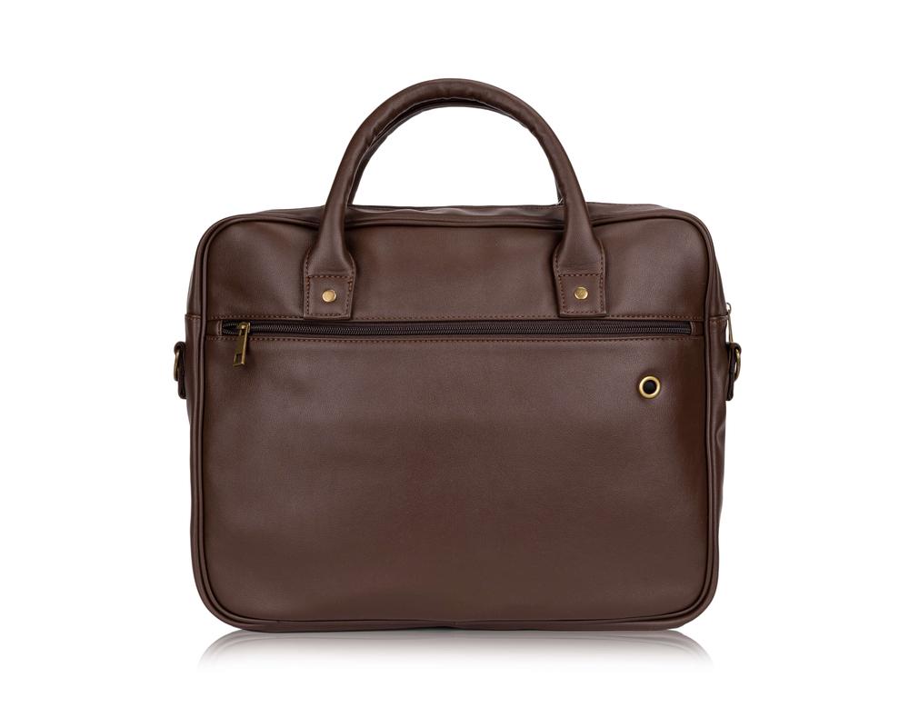 835402ce3fe5d Męska torba na laptopa Solier S19 FOXFORD BRĄZOWY Kliknij