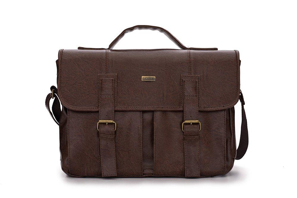 ed7cc10d547f5 Miejska torba na ramię vintage Solier S14 LANARK Kliknij