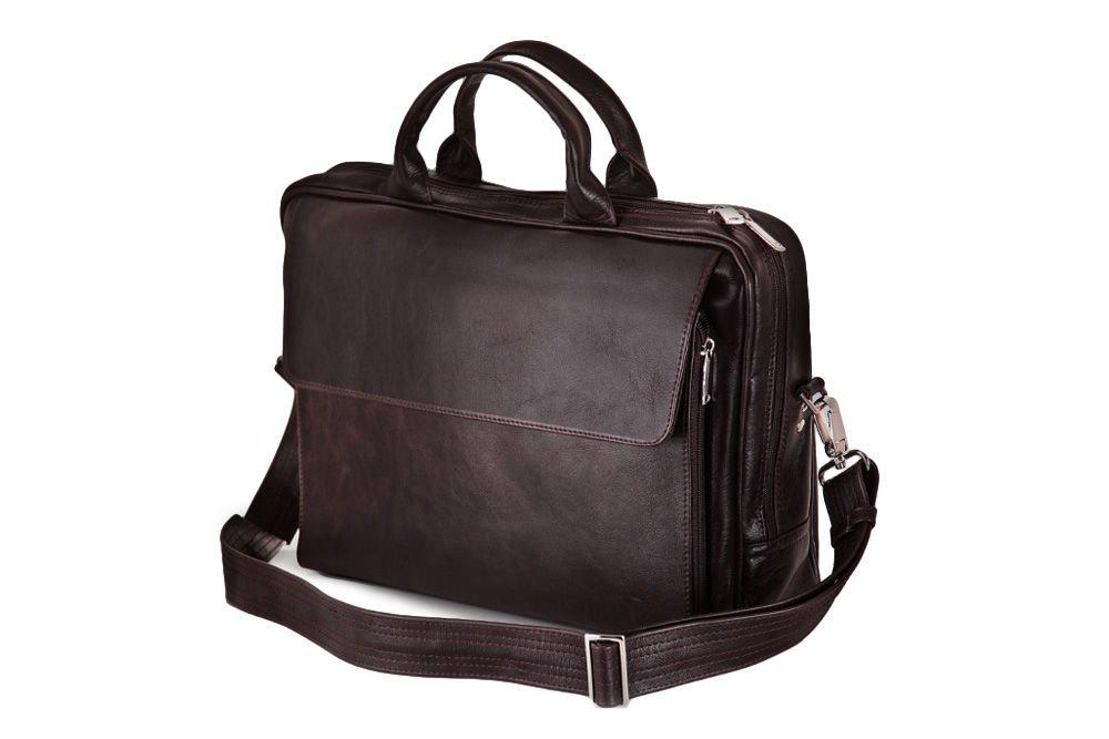 Skórzana męska torba, na laptop Solier Rothen SL30