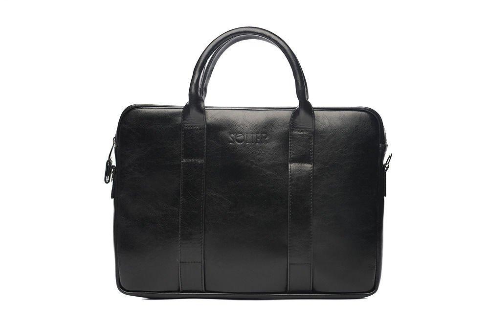 93acbb9ddb050 Skórzana męska torba na laptopa Solier SL20 EDYNBURG Kliknij, aby  powiększyć ...