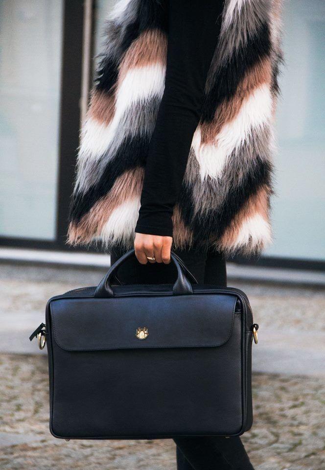 1d1338df14838 ... Skórzana torba na laptopa FL16 Sorrento brązowy vintage Kliknij, aby  powiększyć