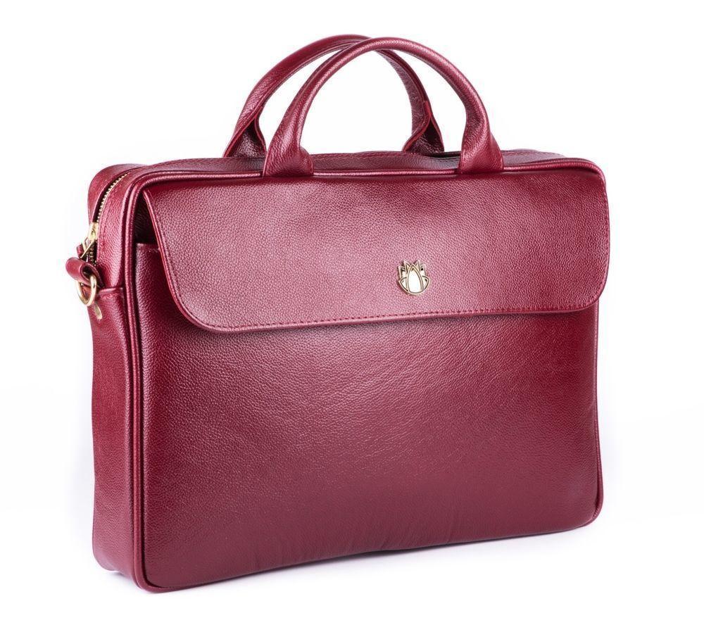 57e9c14b0bf79 ... Skórzana torba na laptopa FL16 Sorrento burgundowa Kliknij, aby  powiększyć ...