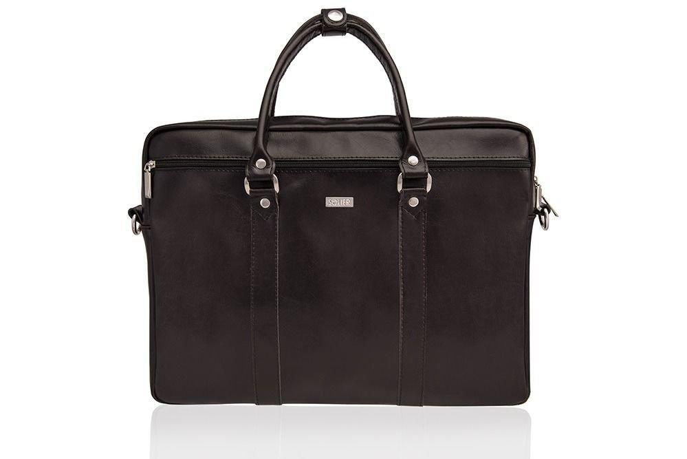 23d3246a3be4c Skórzana torba na ramię laptopa Solier SL03 KILBRIDGE Kliknij, aby  powiększyć ...