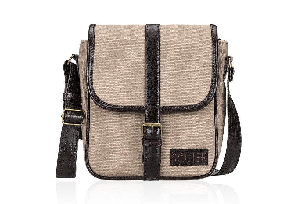 870253d08668e Skórzana torba na ramię / tablet Solier SL08 HIKE Kliknij, aby powiększyć  ...
