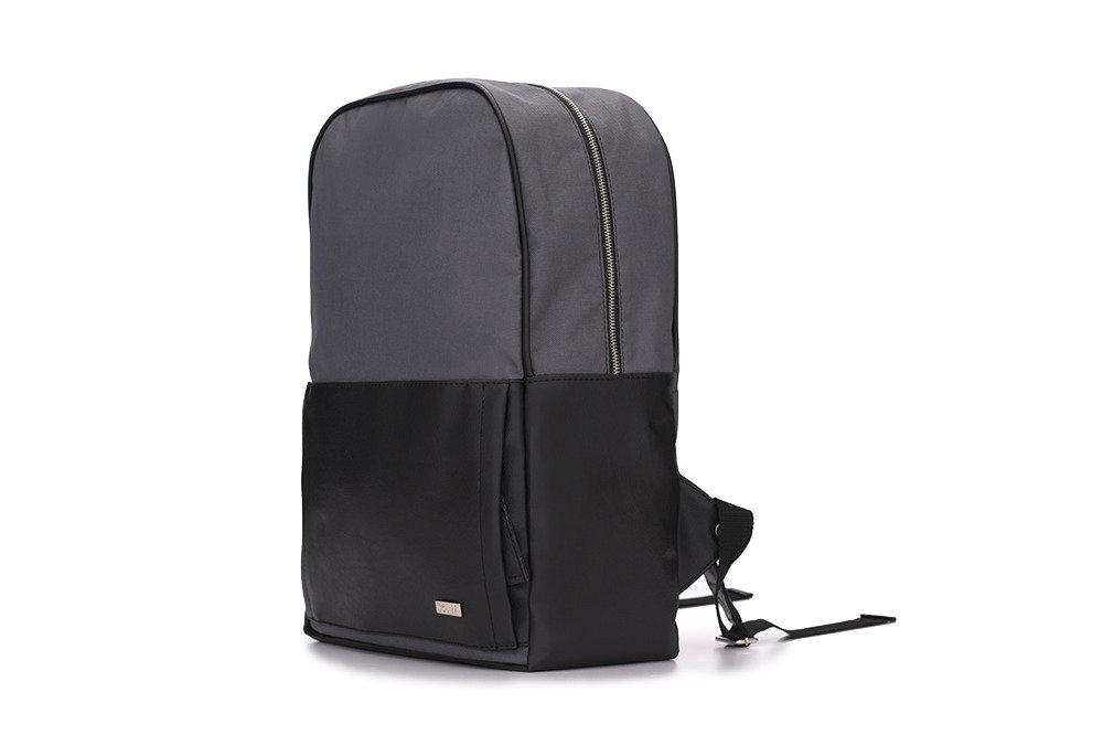 a5901630f8161 ... Szaro-czarny elegancki plecak miejski Solier FORRES Kliknij, aby  powiększyć ...