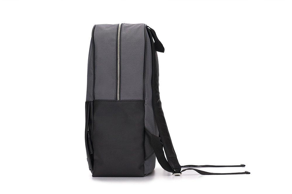 935978889bfed ... Szaro-czarny elegancki plecak miejski Solier FORRES Kliknij, aby  powiększyć ...
