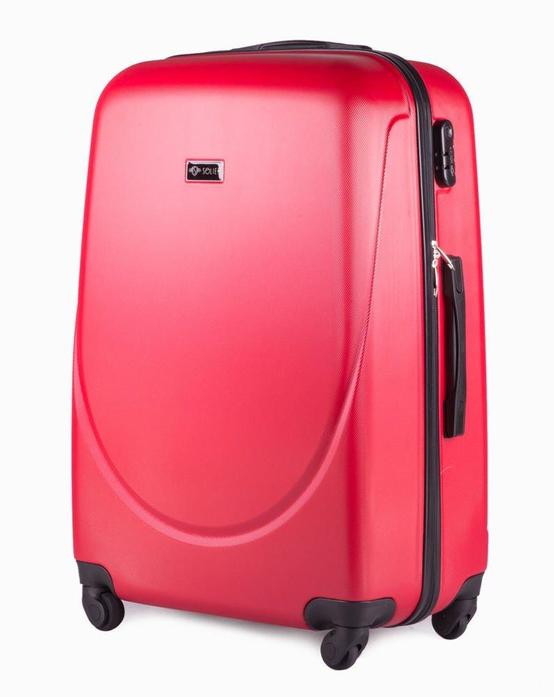 fc1a405c04070 Walizka podróżna duża stl310 abs czerwona Kliknij
