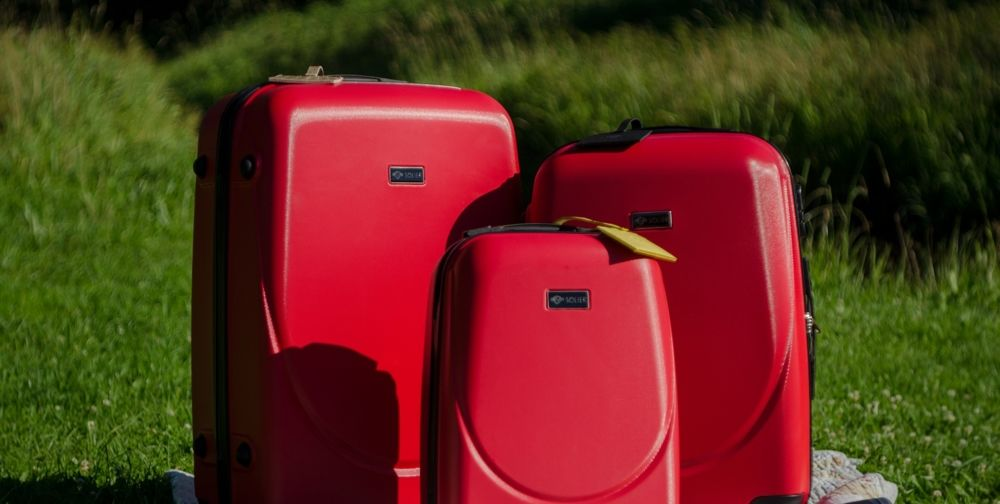 ee396fcfc2ef Zestaw walizek podróżnych stl310 abs miętowy